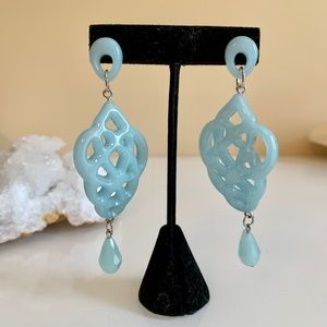 Jewelry - Blue Fashion Earrings